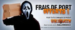 Frais de port gratuits ce week-end sur toute la gamme Halloween! Foncez chez Ruedelafete.com! | Blog RueDeLaFete | deguisement de fete | Scoop.it