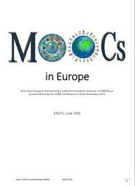 Flexspan: MOOCs i Europa - ny rapport | Nitus - Nätverket för kommunala lärcentra | Scoop.it