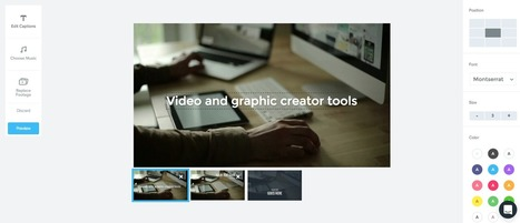 10 Video and graphic creator tools | Into the Driver's Seat | Scoop.it