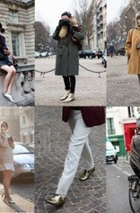 If You're Thinking About….. Metallic Shoes | Best of SHOE BLOGGERS | Scoop.it