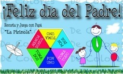 Spanish Father's Day Card with Simple Game is a Great Language Activity » Spanish Playground   Preschool Spanish   Scoop.it