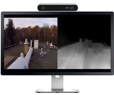 Stereolabs' ZED camera delivers long range 3D vision | Gizmag | Cultibotics | Scoop.it