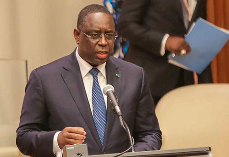 APS - Macky Sall plaide la mise en place de mécanismes de partage de l'eau | water news | Scoop.it