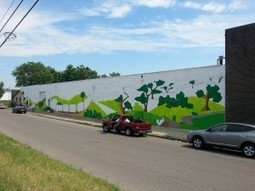 Signs to a Creative Future: National Painting Week Mural Project Led By Teens in Juvenile Court | SocialAction2015 | Scoop.it