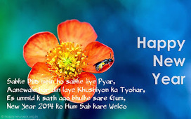 Awesome Collection of Happy New Year 2014 Image Wishes | Happy New Year 2014 SMS, shayari, Wishes, Wallpapers, Quotes, Greetings | Happy New Year 2014 | Scoop.it