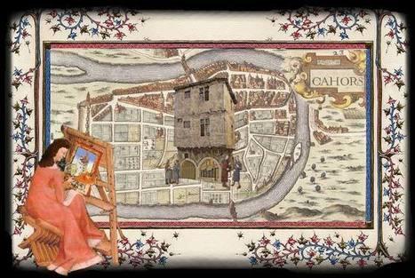 (FR) - Les maisons de Cahors au Moyen Âge   mairie-cahors.fr   Glossarissimo!   Scoop.it