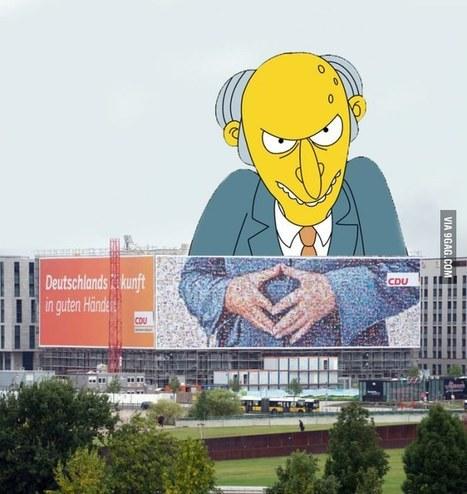 The new Giga advertising from Angela Merkel. | the goalden spirit | Scoop.it