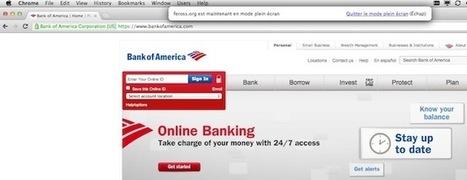 Le plein écran HTML5 exploité dans un phishing | Sécurité de l'informatique | Scoop.it