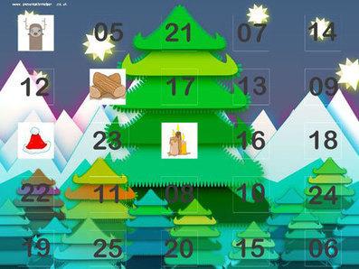 Online Advent Calendar Template | Digital Presentations in Education | Scoop.it