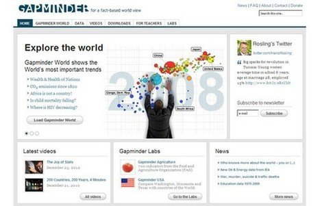 Geographical Association - Gapminder and Worldmapper | Geography | Scoop.it