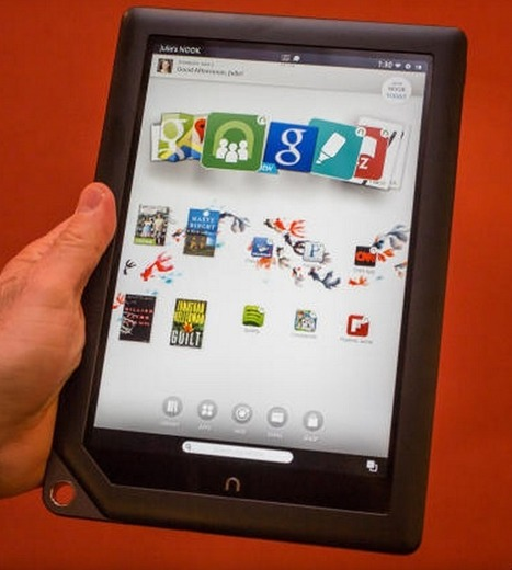 Barnes & Noble turns its Nook HD line into full-powered Android tablets - ZDNet | Mobile Marketing Now | Scoop.it