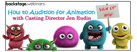 How To Audition For Animation | The Scoop on Voiceover | Scoop.it