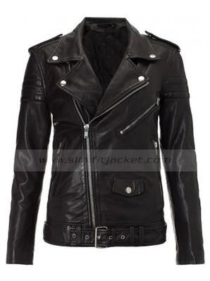 Kim Kardashian Black Jacket | Womens Leather Biker Jacket | Women's Jackets | Scoop.it