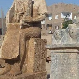 Statues discovered at ancient Hermonthis in Egypt | Archaeology News | Scoop.it