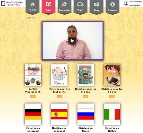 Lire | Lire et Apprendre Ensemble - une plate-forme avec textes adaptés en langue des signes. | Vie numérique  à l'école - Académie Orléans-Tours | Scoop.it