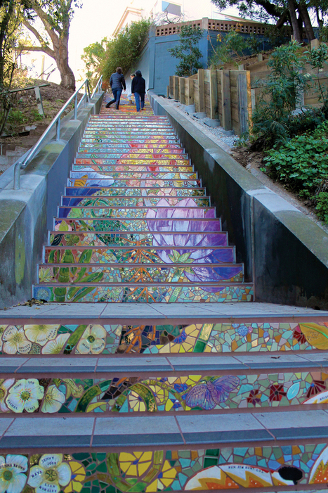 January 10 - 12: New stairway on the block and other SF events | Hidden Garden Steps | Scoop.it