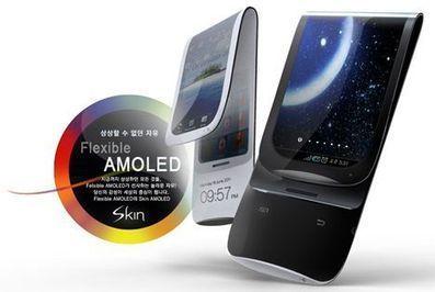 Samsung shows the future of flexible displays [Video]   Zimzala Newswire   Scoop.it