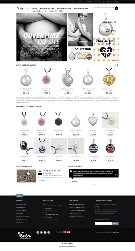 Mon Bola site de vente de bola de grossesse   Clients happiness   Scoop.it