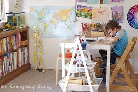 A Tour Inside Our Reggio-inspired Homeschool Room | How to rebuild our Education | Scoop.it