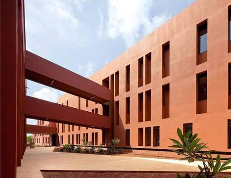 Lycée français de Dakar, Sénégal, Grand Prix AFEX 2012: Agence Terreneuve et Adam Yédid, | The Architecture of the City | Scoop.it