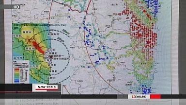 Publication de mesures de radioactivité dans les zones évacuées | NHK WORLD French | Japon : séisme, tsunami & conséquences | Scoop.it