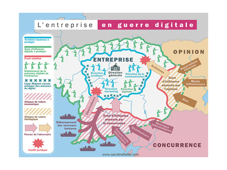 L'art de la guerre digitale, survivre et dominer à l'ère du numérique par Caroline Faillet | CultureRP | Scoop.it
