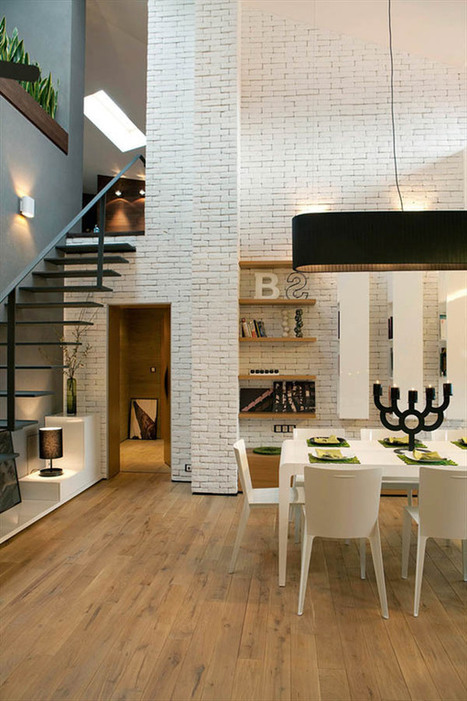 Warm Modern Loft Design in Bulgaria | 2012 Interior Design, Living Room Ideas, Home Design | Scoop.it