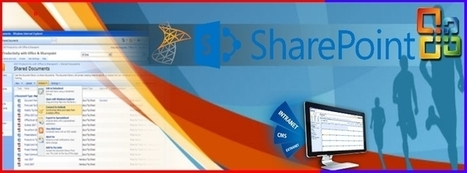SharePoint experts are those professional show have deep understanding of the majority of the tools and systems used by the platform | SharePoint Developer | India | Scoop.it