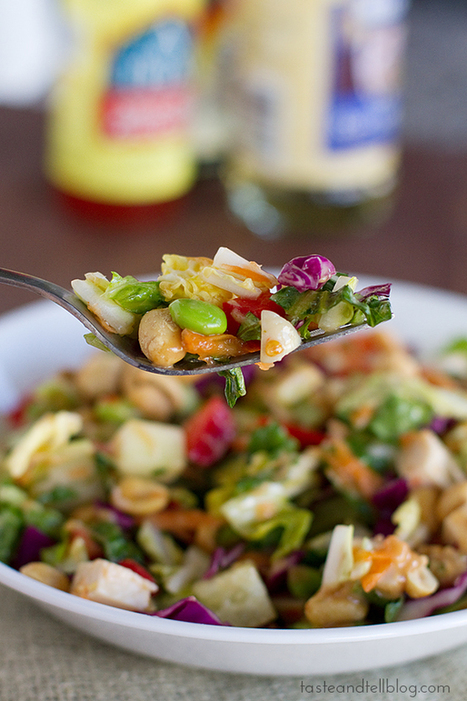 Thai Chopped Chicken Salad | | Healthy Cooking Magazine | Scoop.it