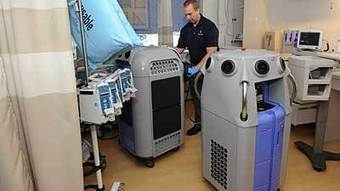 Disinfecting robots help prevent superbug infections at Hopkins | Robots and Robotics | Scoop.it