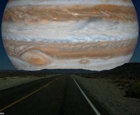 What the Night Sky Would Look Like If the Other Planets Were as Close as the Moon | Quirky Travel and Weather | Scoop.it