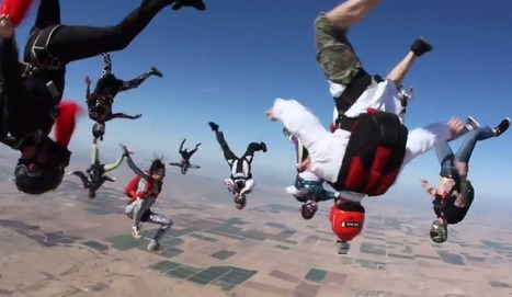 Skydivers jump from plane and dance Harlem Shake - News - Bubblews | Housekeepers | Scoop.it