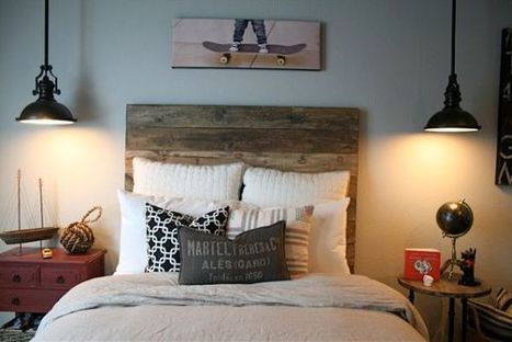 10 Beautiful wooden headboards for a warm and inviting bedroom décor | Designing Interiors | Scoop.it
