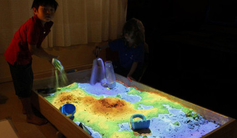The Simple Idea behind This Mind-Blowing 3D Interactive Sandbox | relevant entertainment | Scoop.it