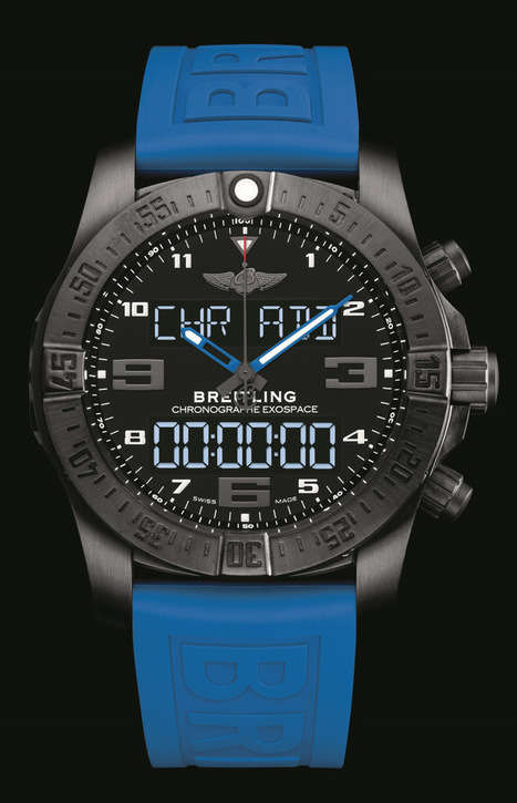 The Breitling Exospace B55 Is The Latest LuxurySmartwatch | Internet of Things & Wearable Technology Insights | Scoop.it