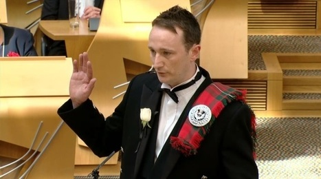 "Holyrood job for man accused of calling SNP colleague ""twisted bitch"" 