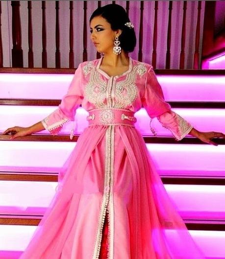 Caftan Rose 2014 - Caftan Marocain Tendances ~ Caftan Marocain Boutique Takchita 2014 : Vente Location Caftan au Maroc | Caftan 2014 | Scoop.it