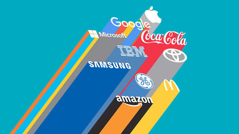 Les 100 marques les plus puissantes au monde en 2016 selon Interbrand | web@home    web-academy | Scoop.it