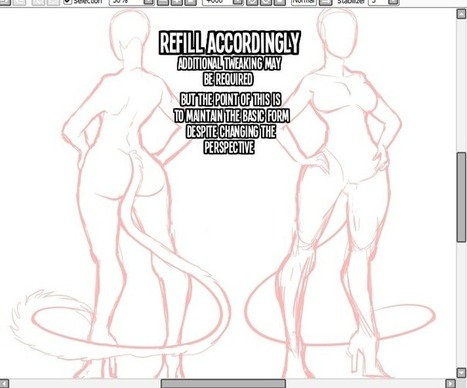 How to Draw Back Views | Art References | Scoop.it