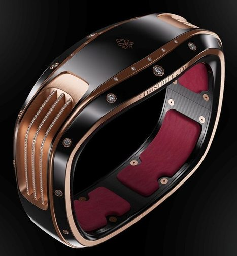 Christophe & Co. Armill Is $150,000 Self-Powering Smart Bracelet Designed By Pininfarina With Upgradeable Tech | MarketingHits | Scoop.it