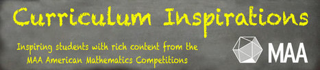 Curriculum Inspirations | Mathematical Association of America | Electronic Toolbox | Scoop.it