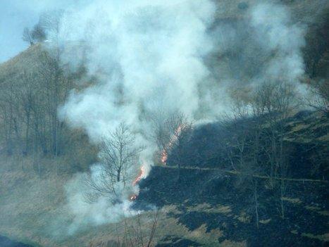 Incendie sur la route du col d'Azet | Vallée d'Aure - Pyrénées | Scoop.it