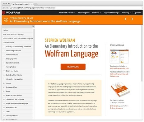 I Wrote a Book—To Teach the Wolfram Language—Stephen Wolfram Blog | Tudo o resto | Scoop.it