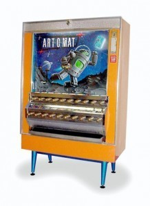 Art-o-mat, Retired Cigarette Vending Machines Converted to Sell Art | Transmediation | Scoop.it