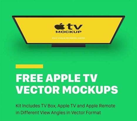 Free Apple TV Mockups   Designer Mill   Freakinthecage Webdesign Lesetips   Scoop.it