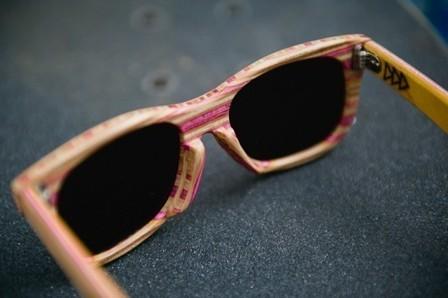 the Trendy Girl   Les lunettes en skate recyclé   Eyewear   Scoop.it