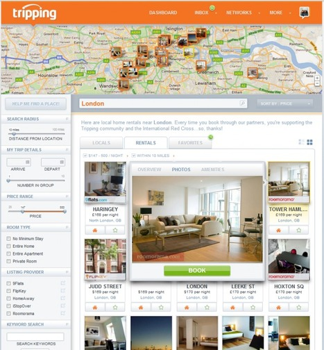 TechCrunch | Tripping Brings A Kayak-Style Discovery Engine To The Airbnb Rental Model | Tripping.com - Where Travelers Meet Locals | Scoop.it