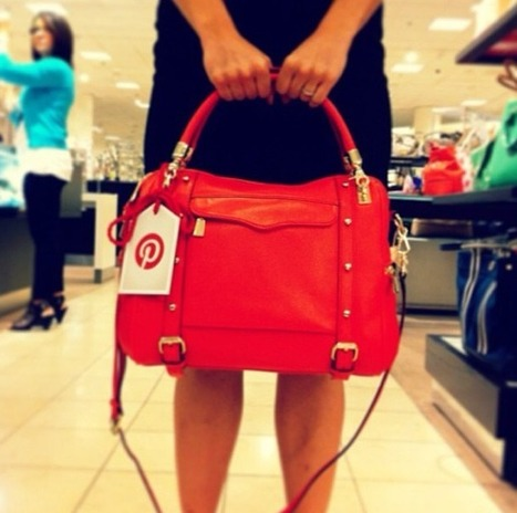 Using Pinterest's social cred to get in-store shoppers to make purchases | scooping the world | Scoop.it