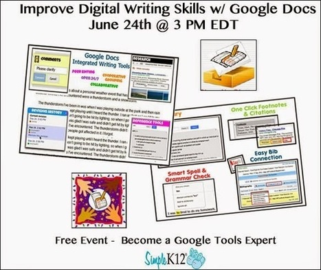 Cool Tools for 21st Century Learners: Improve Digital Writing Skills with Google Docs | classroom tech for students and teachers | Scoop.it