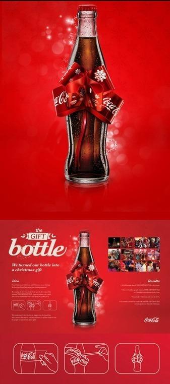 Coca Cola: per Natale arrivano le Gift Bottle - SMC | Social Media Consultant 2012 | Scoop.it